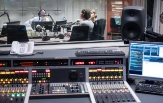 Radio1 studio